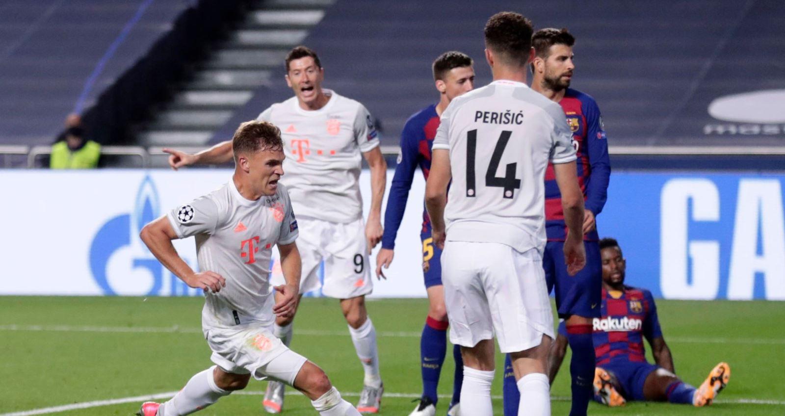 Kết quả bóng đá, MU, manchester united, lịch thi đấu, Barcelona 2-8 Bayern Munich, Kết quả tứ kết cúp C1 châu Âu, kết quả barca đấu với Bayern, Kết quả tứ kết Champions League, kết quả bóng đá hôm nay