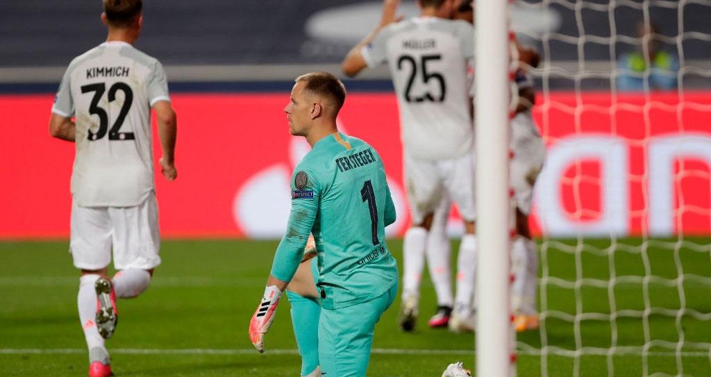 Manuel Neuer, Ter Stegen, Kết quả bóng đá, Barcelona 2-8 Bayern Munich, Kết quả tứ kết cúp C1 châu Âu, kết quả barca đấu với Bayern, Kết quả tứ kết Champions League, Bayern, Barca
