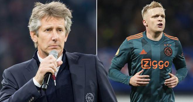 MU, manchester united, bóng đá, bóng đá hôm nay, Ajax, van de beek, van der sar, chuyển nhượng