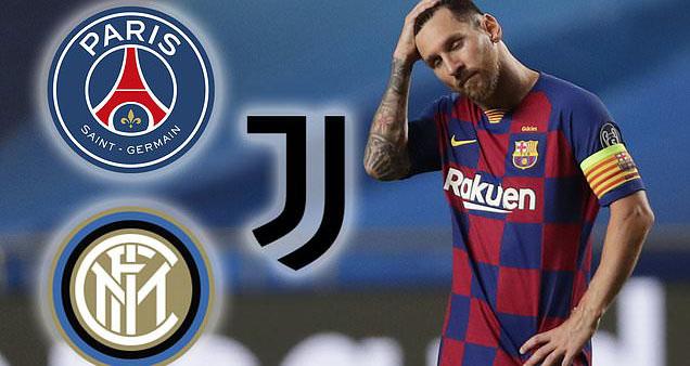 Messi, Lionel Messi, trực tiếp bóng đá, bóng đá, PSG, Man City, Juventus, Inter Milan, Barcelona