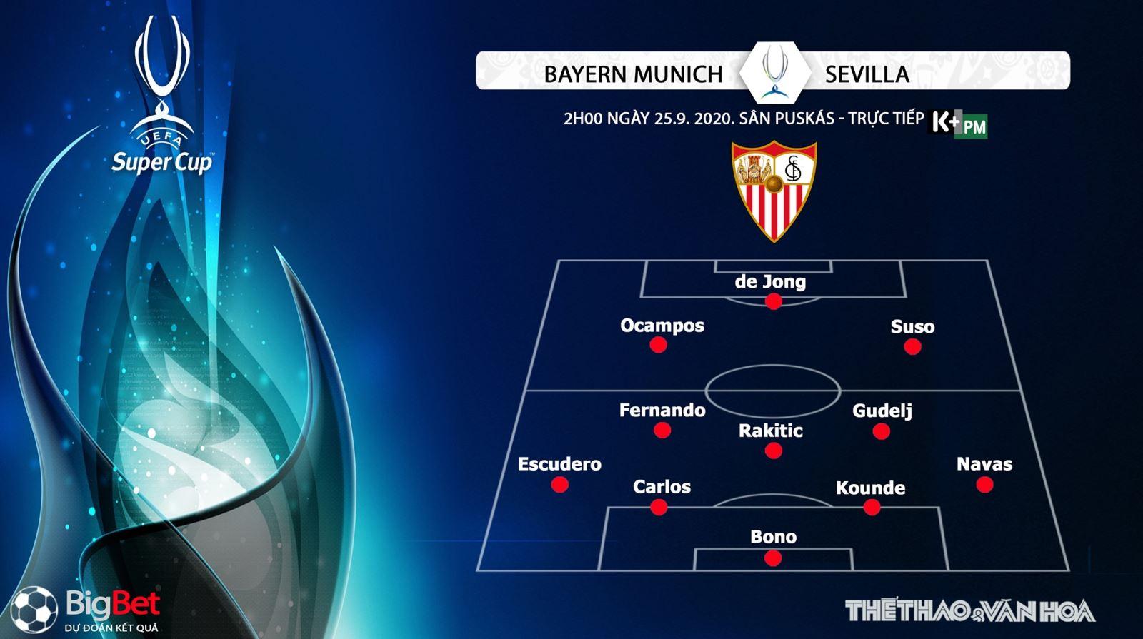 Bayern Munich vsSevilla, Bayern Munich, Sevilla, soi kèo, trực tiếp bóng đá, soi kèo Bayern Munich vsSevilla, kèo bóng đá Bayern Munich vsSevilla, kèo thơm