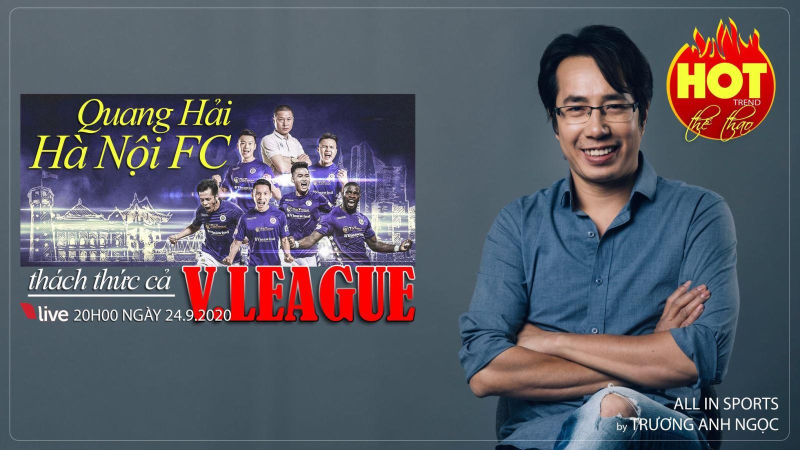 Quang Hải và Hà Nội FC thách thức cả V-League 2020
