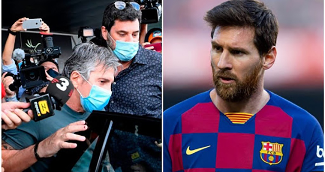 Barcelona, Chuyển nhượng Barcelona, Messi, Messi ở lại Barcelona đến hè 2021, tương lai Messi, Lionel Messi, chuyển nhượng bóng đá, Messi ở lại Barca, tin chuyển nhượng