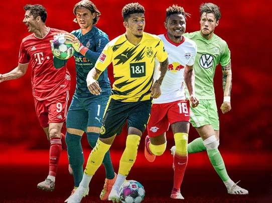 Lịch thi đấu và trực tiếp bóng đá Đức vòng 1 trên VTV6