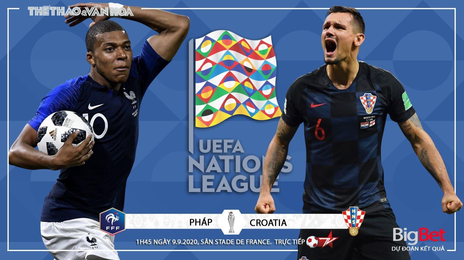 Soi kèo nhà cái Pháp vsCroatia. UEFA Nations League 2020/2021. Trực tiếp BĐTV