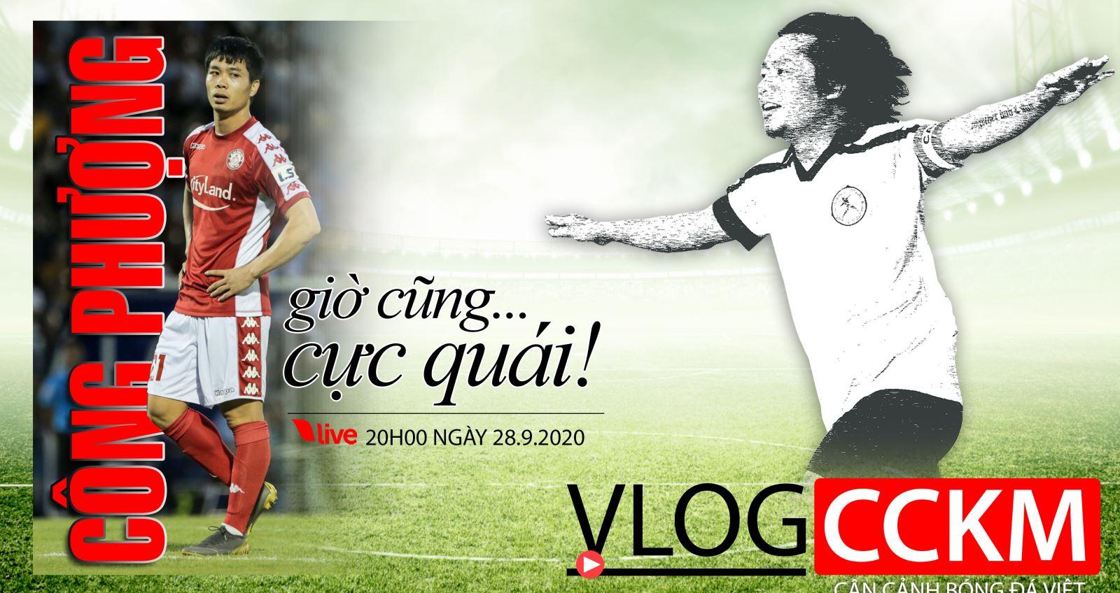 Trần Hải, CCKM, V-Log, V-League, Công Phượng, HAGL, CLB TP.HCM, treo giò, bóng đá, lịch thi đấu bóng đá
