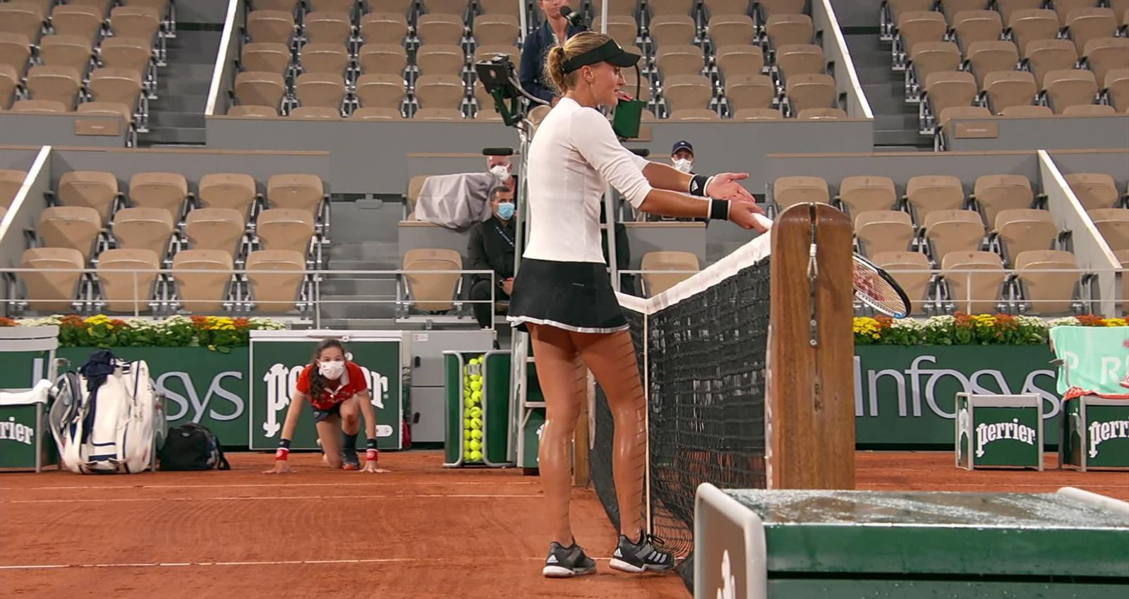 tennis, quần vợt, Kristina Mladenovic, pháp mở rộng, Laura Siegemund, Roland Garros
