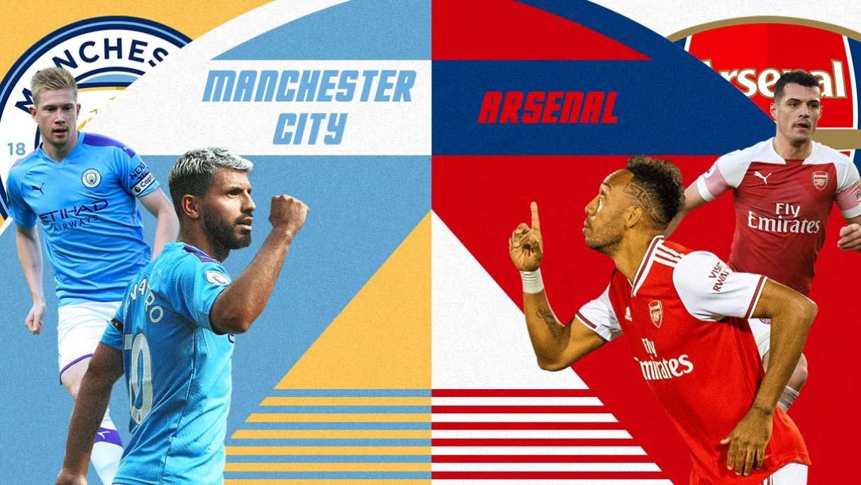 Trực tiếp bóng đá Man City vs Arsenal. Link xem trực tiếp Man City đấu với Arsenal