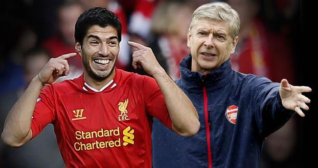 Arsene Wenger, Wenger, Arsenal, Luis Suarez, Liverpool, bóng đá, bong da, bóng đá anh, lịch thi đấu