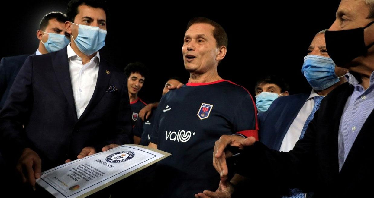 bóng đá, bong da, kỷ lục thế giới, cầu thủ già nhất, ai cập, Ezzeldin Bahader
