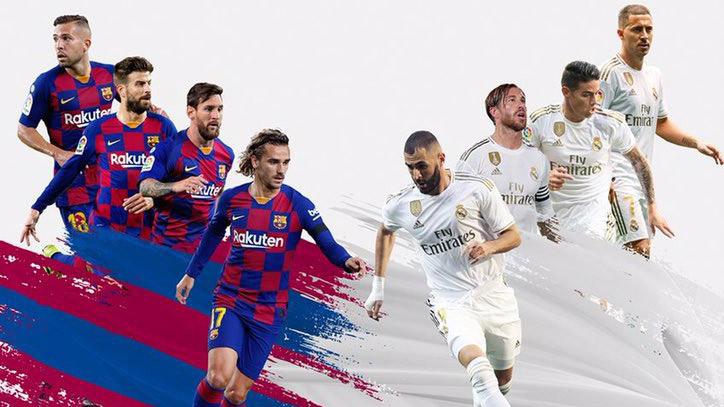 Trực tiếp bóng đá. Barcelona vs Real Madrid. BĐTV trực tiếp Siêu kinh điển