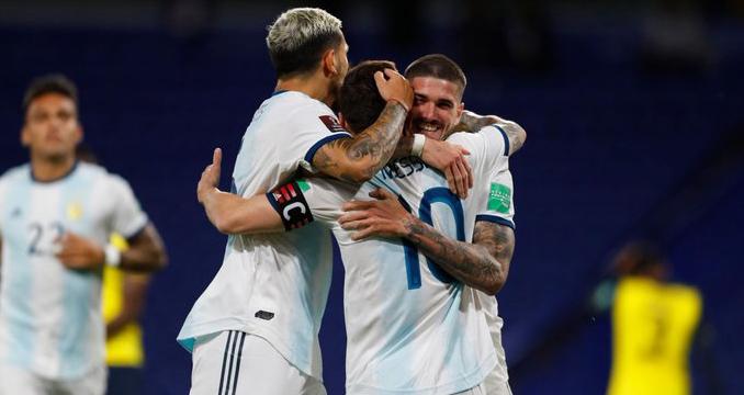 Messi, Argentina, kết quả bóng đá, kết quả Argentina vs Ecuador, trực tiếp Argentina vs Ecuador, vòng loại world cup 2022