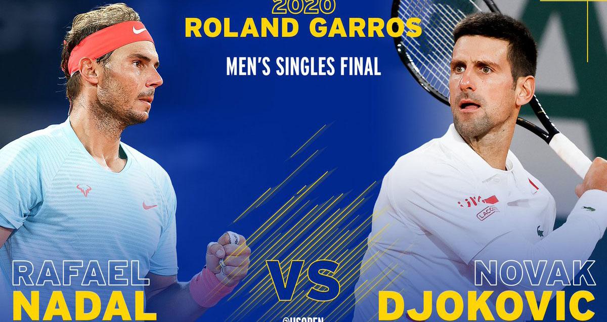 Novak Djokovic vs Rafael Nadal, nadal, djokovic, tennis, roland garros, pháp mở rộng, chung kết pháp mở rộng