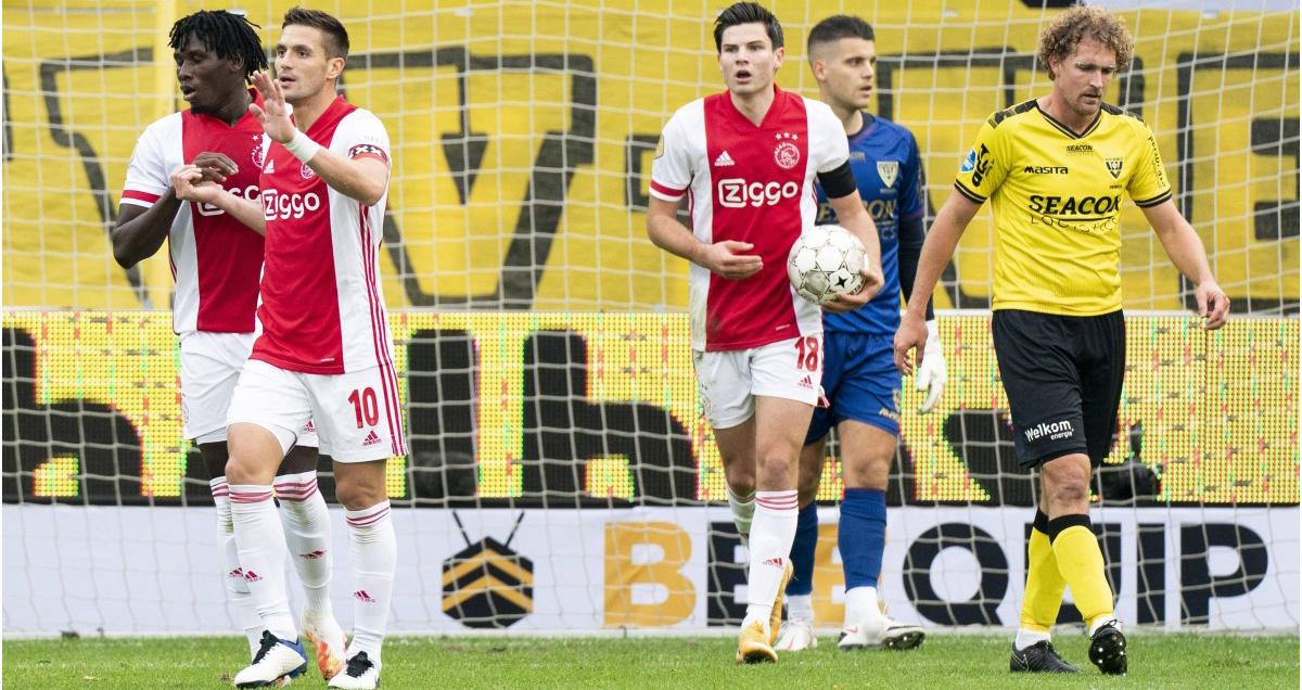 Hà Lan, Ajax, Venlo, giải VĐQG Hà Lan, kỷ lục, trận thắng đậm nhất, 13-0, Ajax 13-0 Venlo