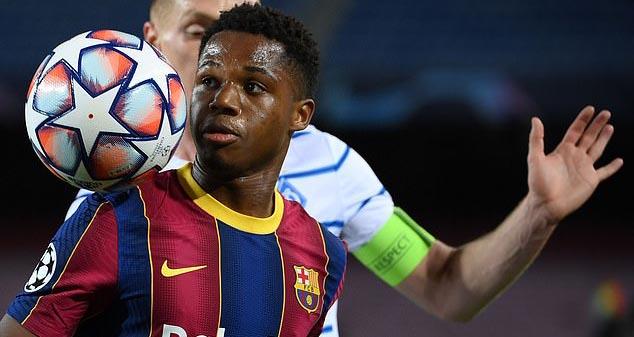 Barcelona, Barca, bóng đá, bóng đá hôm nay, Ansu Fati, chấn thương, la liga, bóng đá tây ban nha