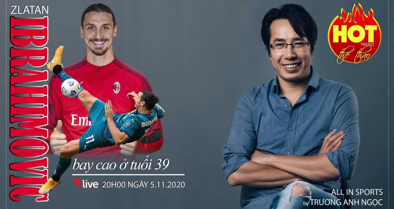 BLV Anh Ngọc, Zlatan Ibrahimovic, Ibrahimovic, Trương Anh Ngọc, Anh Ngọc, AC Milan