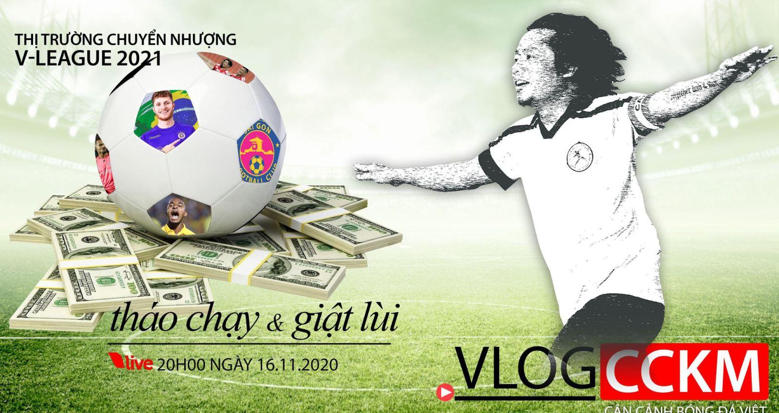 CCKM, bóng đá, bong da, Sài Gòn FC, trần hải, V-League, lịch thi đấu, Vlog CCKM