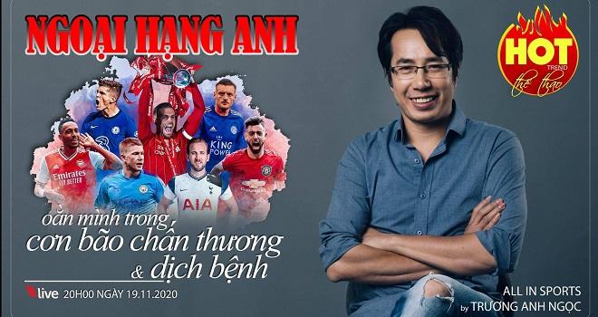 BLV Anh Ngọc, Anh Ngọc, bóng đá, bong da, lịch thi đấu, trực tiếp bóng đá, Premier League, bóng đá Anh