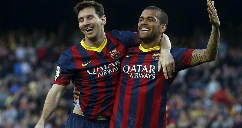 Barcelona, Barca, Lionel Messi, Dani Alves, bóng đá, bóng đá Tây Ban Nha, La Liga, messi, alves