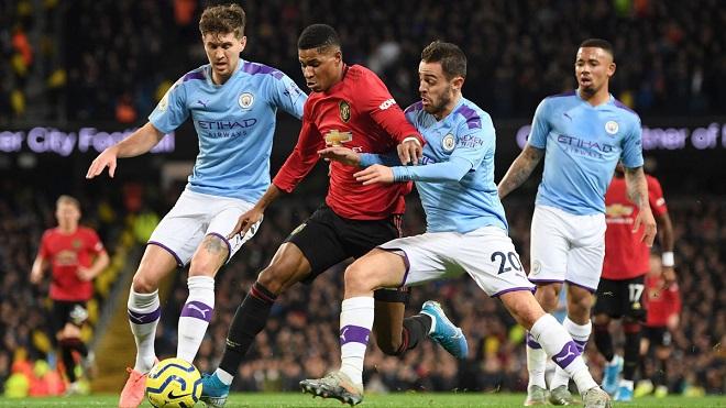 Trực tiếp MU vs Man City. K+PM trực tiếp bóng đá Ngoại hạng Anh vòng 12