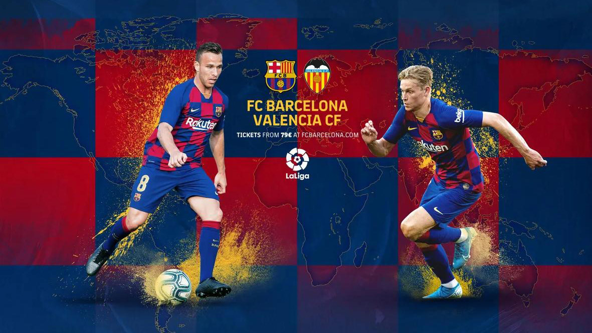 Trực tiếp bóng đá. Barcelona vs Valencia. BĐTV trực tiếp bóng đá Tây Ban Nha