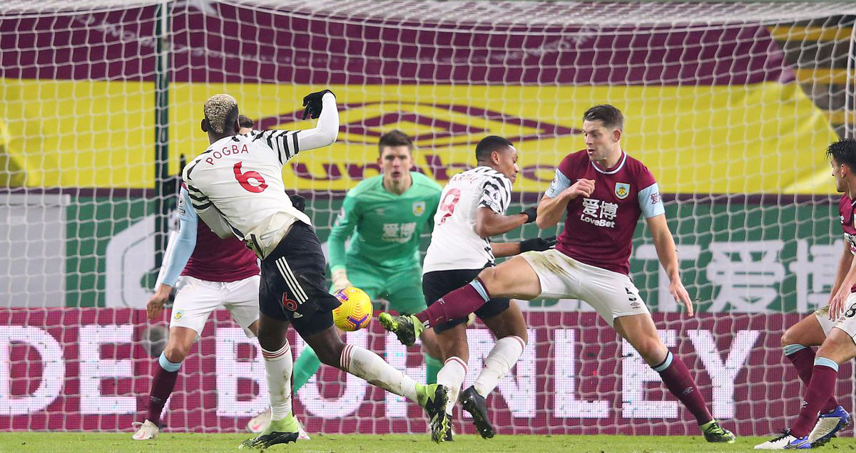 Video clip bàn thắng trận Burnley vs MU