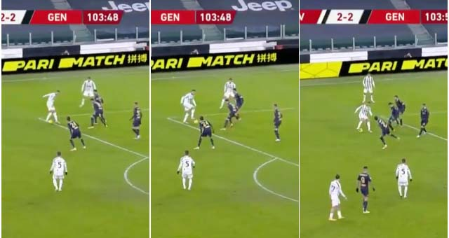 Juventus, Ronaldo, cristiano ronaldo, genoa, juventus vs genoa, coppa italia, bóng đá