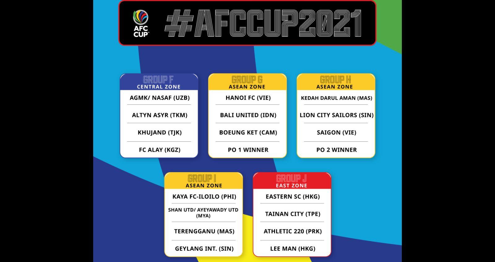 bóng đá, bong da, AFC Cup, Hà Nội FC, Sài Gòn FC, lịch thi đấu, lịch thi đấu bóng đá