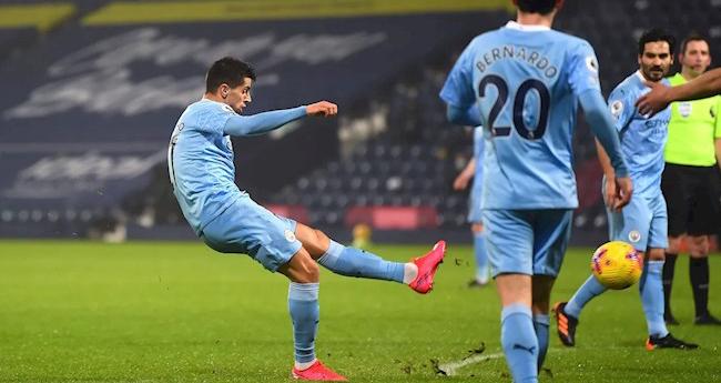 Video West Brom vs Man City, Video clip bàn thắng trận West Brom vs Man City, De bruyne, Guendogan, pep guardiola