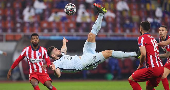 Kết quả bóng đá cúp C1 châu Âu, Atletico-Chelsea, Lazio-Bayern, Kết quả Atletico vs Chelsea, Kết quả bóng đá Champions League, Video Atletico vs Chelsea, Chelsea, Giroud