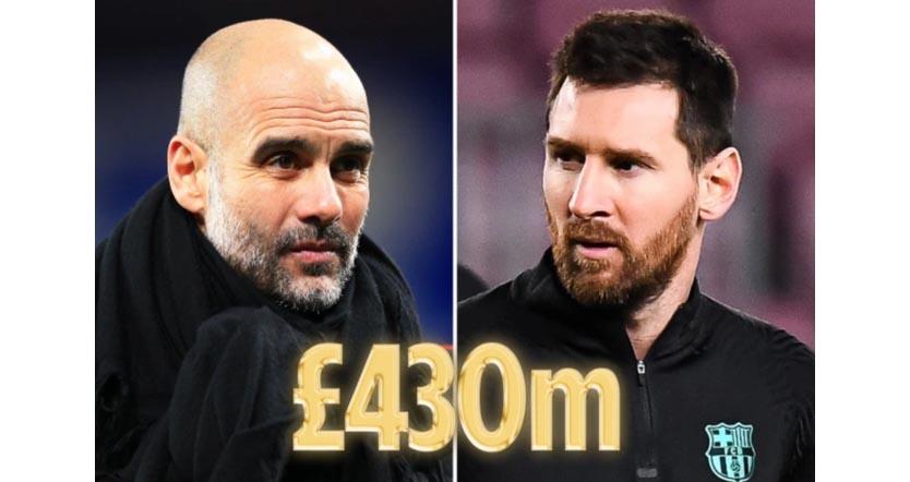 Messi, Man City mua Messi, Man City mua Messi với 430 triệu bảng, Man City, Messi, Barcelona, Messi tới Man City, Messi gia nhập Man City, Messi rời Barcelona
