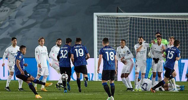 kết quả bóng đá, kết quả Cúp C1 châu Âu, kết quả Real Madrid vs Atalanta, Real Madrid 3-1 Atalanta, Real Madrid, Champions League, Cúp C1, Benzema, bong da hom nay
