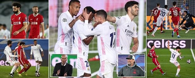Kết quả bóng đá, Kết quả tứ kết Cúp C1 châu Âu, tứ kết Cúp C1 châu Âu, kết quả Real Madrid vs Liverpool, Real Madrid 3-1 Liverpool, Cúp C1, Champions League, Real Madrid