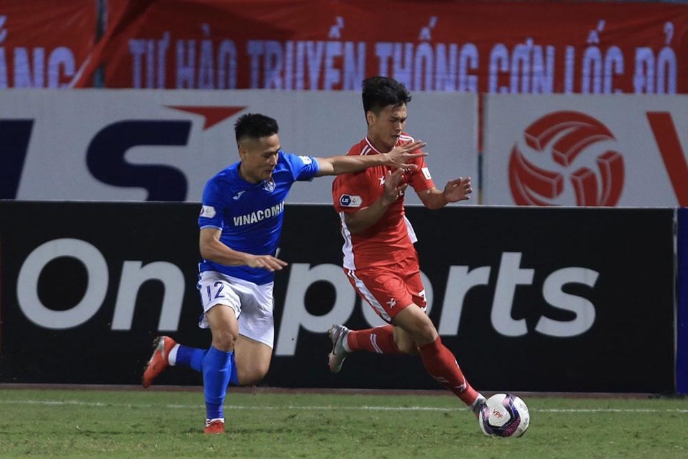 Bảng xếp hạng V League 2021, BXH bóng đá Việt Nam mới nhất vòng 10, HAGL, Hà Nội FC, Viettel, Than Quảng Ninh, Nam Định, V League