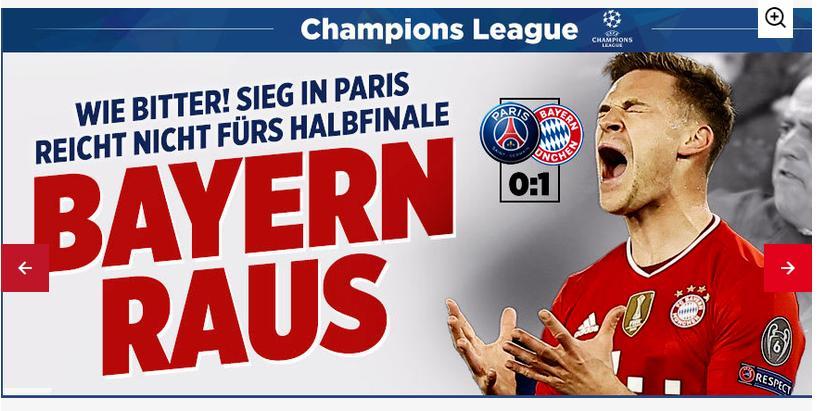 PSG vs Bayern, Video PSG 0-1 Bayern, Neymar, Pochettino, Cúp C1, kết quả PSG vs Bayern, kết quả tứ kết Cúp C1, kết quả tứ kết Champions League, kqbd, PSG