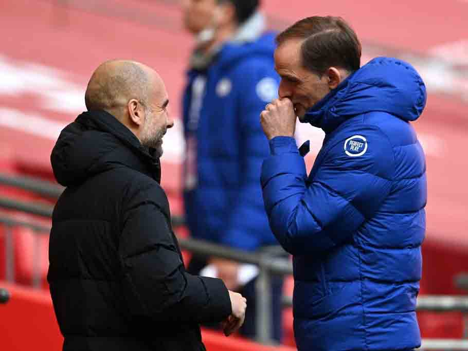 Tuchel khen Chelsea dũng cảm, Guardiola thừa nhận Man City mệt mỏi