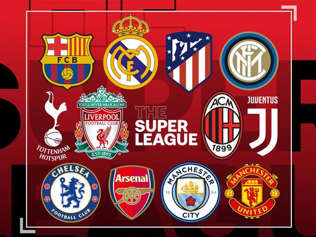Super League: Đội nào rút khỏi giải phải nộp phạt 130 triệu bảng
