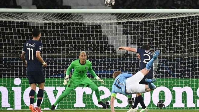 PSG 1-2 Man City: Navas mắc sai lầm, PSG thua ngược trên sân nhà