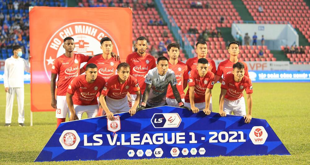 BĐTV trực tiếp bóng đá Việt Nam: TPHCM vs Bình Định. Trực tiếp V-League 2021