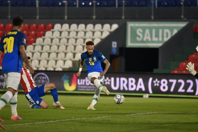 Paraguay 0-2 Brazil, vòng loại World Cup 2022, kết quả bóng đá hôm nay, kết quả Brazil đấu với Paraguay, kết quả vòng loại World Cup 2022 khu vực Nam Mỹ, kết quả Brazil