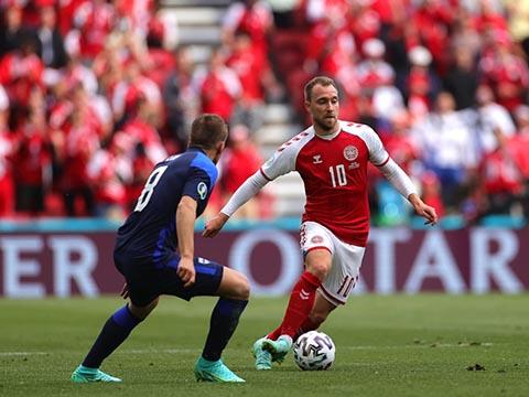 UEFA dành tặng giải Cầu thủ hay nhất trận cho Eriksen