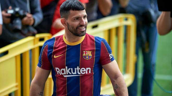 Bóng đá hôm nay 9/8: Barcelona mất Aguero 10 tuần. Tottenham theo đuổi Messi