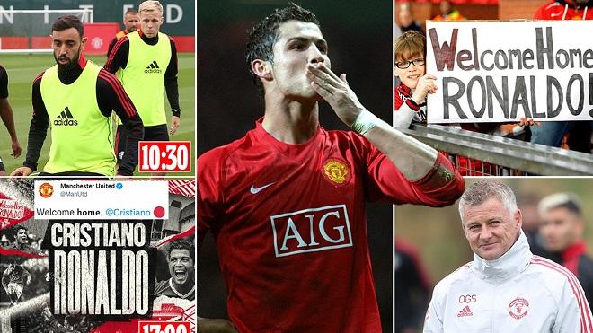 Sir Alex và 'biệt đội MU' đã thuyết phục Ronaldo trở lại Old Trafford như thế nào?