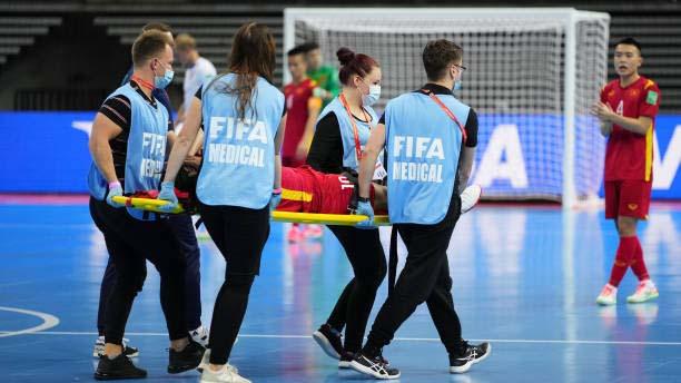Futsal Việt Nam vs CH Séc, ket qua bong da Futsal Viet Nam vs CH Séc, Đức Tùng chấn thương, ket qua bong da futsal Viet Nam, bảng xếp hạng futsal World Cup 2021