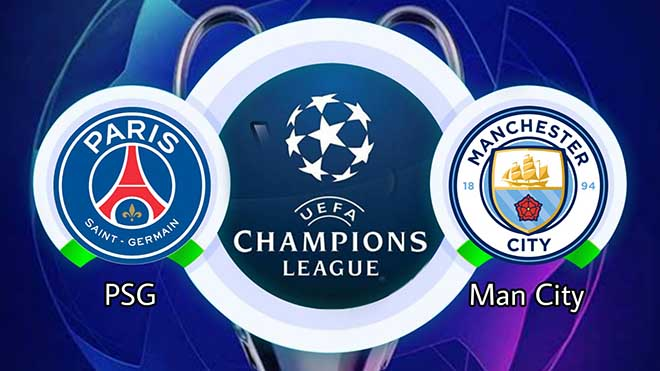 VIDEO PSG vs Man City, Cúp C1/Champions League
