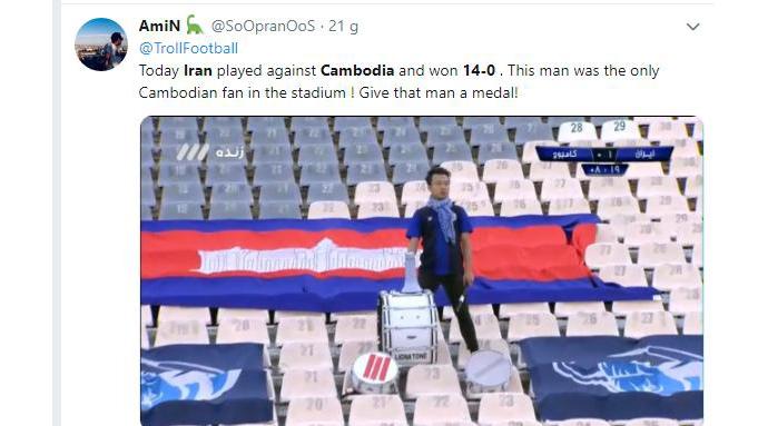 Vòng loại World Cup 2022, bảng xếp hạng vòng loại World Cup bảng G, Việt Nam 1-0 Malaysia, Campuchia 0-14 Iran, Campuchia, Iran, lịch thi đấu vòng loại World Cup
