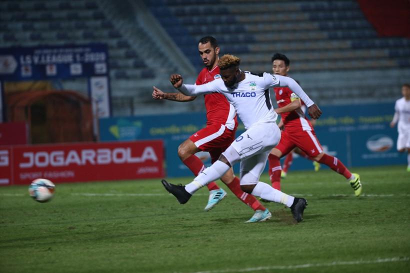 VIDEO bóng đá V League, Viettel 3-3 HAGL: Rượt đuổi kịch tính