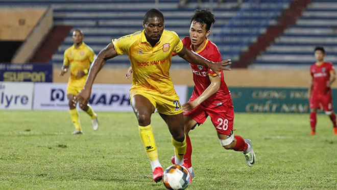 VIDEO bàn thắng và highligt Nam Định 1-1 Bình Dương: Chật vật kiếm 1 điểm