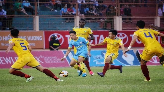 V- League 2019: 'Dựa hơi' SLNA, HAGL tìm cơ hội trụ hạng