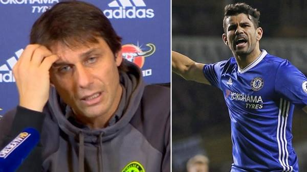 Diego Costa: 'Conte đuổi tôi bằng một tin nhắn. Thật nhục nhã...'